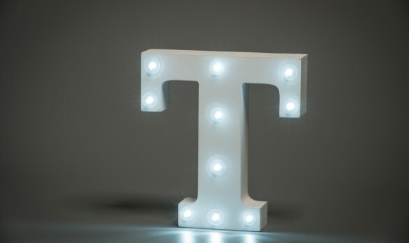 Up in Lights - Letters